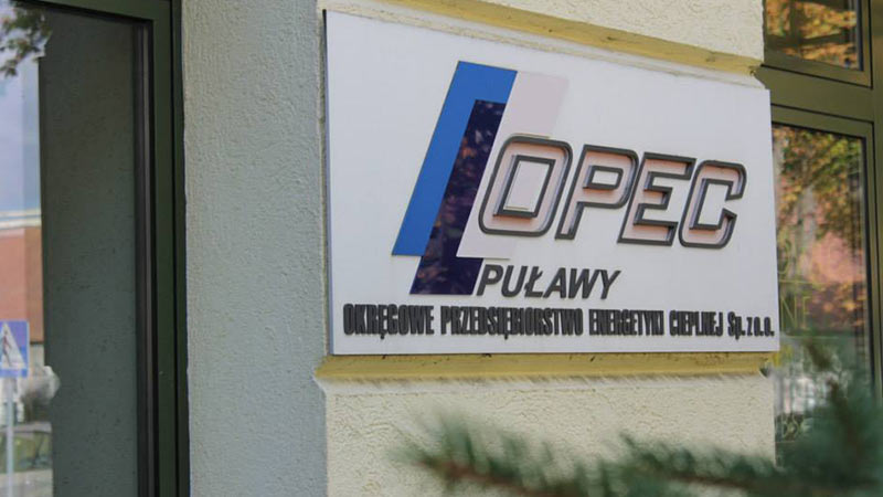 Okręgowe Przedsiębiorstwo Energetyki Cieplnej Sp. z o.o. w Puławach